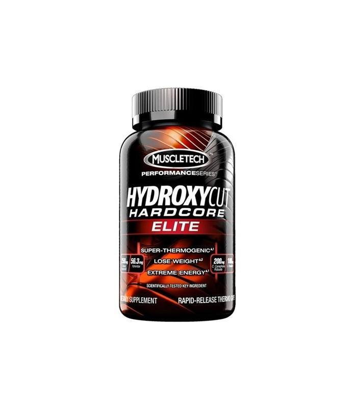 hydroxycut elite harcore muscletech 12 capsulas